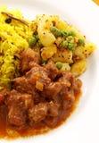 Caril indiano da carne Fotografia de Stock