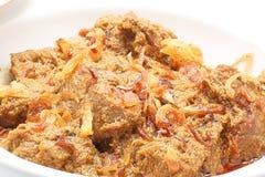Caril Mezban da carne imagens de stock