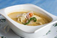 Caril tailandês fotografia de stock