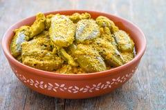 Caril vegetal indiano Imagens de Stock
