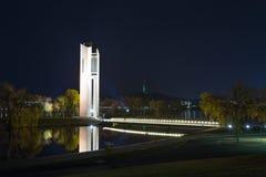 Carillón nacional Canberra Imagen de archivo