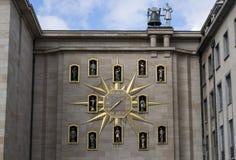 Carillion clock Stock Image