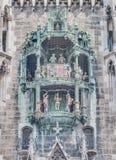 Carillion de Neues Rathaus à Munich, Allemagne Photo libre de droits