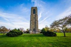 Carillon al panettiere Park, in Frederick, Maryland fotografie stock libere da diritti