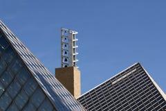 Carillon Bells and Pyramid Rooftops Royalty Free Stock Photo