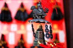 Carillon de vent de la Chine Photographie stock