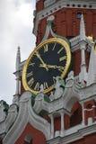 Carillon della torre di Spassky del Cremlino di Mosca Immagine Stock Libera da Diritti