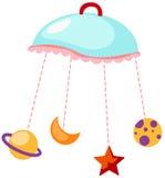 Carillon di vento del bambino Immagini Stock Libere da Diritti
