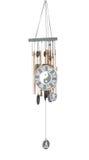 Carillon di vento di yin yang Fotografia Stock