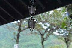 Carillon di vento su Mont Taroko fotografia stock