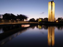 Carillon national canberra image libre de droits