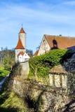 Carillon nel comune di Monaco di Baviera Fotografia Stock