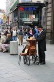 Carillon player in Vienna, Austria Stock Photo