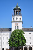 Carillon tower of New Residence in Salzburg Stock Photography