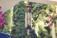 Carillones de viento de la ejecución Imagen de archivo