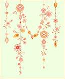 Carillones de viento decorativos Imagen de archivo libre de regalías