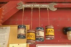 Carillones de viento Kitschy Imagen de archivo