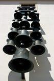 Carillons dans la cour du château Spilberk à Brno Images stock