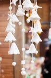 Carillons de vent en céramique Photographie stock libre de droits