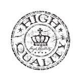 Carimbo de borracha da alta qualidade Foto de Stock Royalty Free
