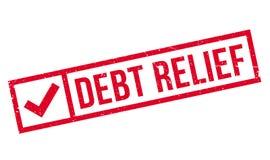 Carimbo de borracha da amortização da dívida ilustração stock
