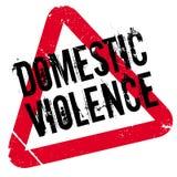 Carimbo de borracha da violência doméstica Imagens de Stock