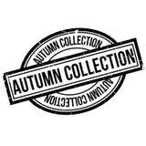 Carimbo de borracha de Autumn Collection Fotografia de Stock Royalty Free