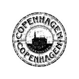 Carimbo de borracha de Copenhaga Imagem de Stock Royalty Free