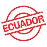Carimbo de borracha de Equador ilustração royalty free