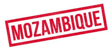 Carimbo de borracha de Moçambique Fotos de Stock Royalty Free
