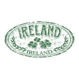 Carimbo de borracha do grunge de Ireland ilustração do vetor