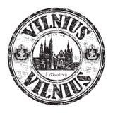 Carimbo de borracha do grunge de Vilnius Imagem de Stock Royalty Free