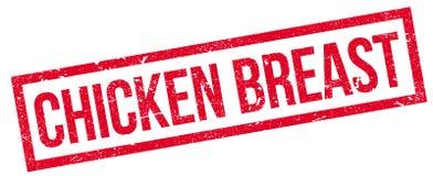 Carimbo de borracha do peito de frango ilustração do vetor