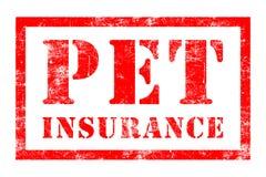 Carimbo de borracha do seguro do animal de estimação Imagem de Stock Royalty Free