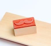 Carimbo de borracha dos bigodes Conceito da conscientização da saúde do ` s dos homens de Movember Imagem de Stock Royalty Free