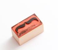 Carimbo de borracha dos bigodes Conceito da conscientização da saúde do ` s dos homens de Movember Imagens de Stock Royalty Free