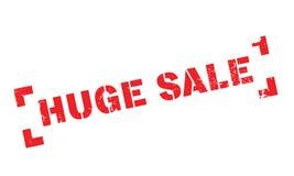 Carimbo de borracha enorme da venda ilustração stock