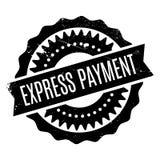 Carimbo de borracha expresso do pagamento Imagens de Stock Royalty Free