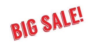 Carimbo de borracha grande da venda Foto de Stock