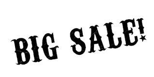 Carimbo de borracha grande da venda Fotos de Stock Royalty Free