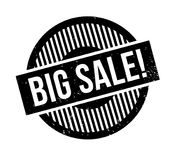 Carimbo de borracha grande da venda Imagens de Stock Royalty Free