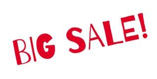 Carimbo de borracha grande da venda Fotografia de Stock Royalty Free