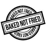 Carimbo de borracha não fritado cozido ilustração royalty free