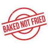 Carimbo de borracha não fritado cozido ilustração do vetor