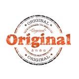 Carimbo de borracha original Imagens de Stock