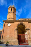 Carinena Zaragoza church Nuestra Senora de la Asuncion Spain Royalty Free Stock Photography