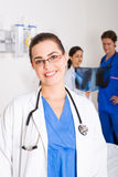 Caring doctors Stock Images