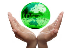 Caring for Earth. And protecting our future Royalty Free Stock Image