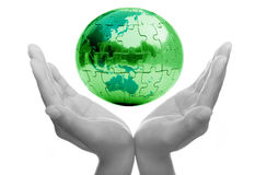 Caring for Earth Stock Photos