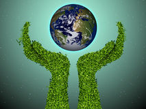 Caring for the environment Royalty Free Stock Image
